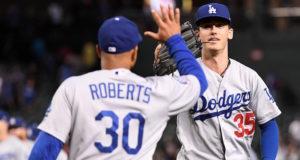 Cody Bellinger, Dave Roberts, Dodgers