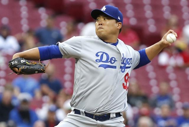 d94b18d85 Dodgers News  Hyun-Jin Ryu To Start Series Finale Vs. Reds