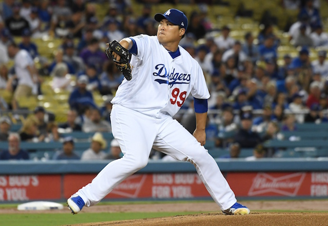 e6b13000b Dodgers News  Hyun-Jin Ryu Believes Early Notice Of Starting Against  Rockies Contributed To Success