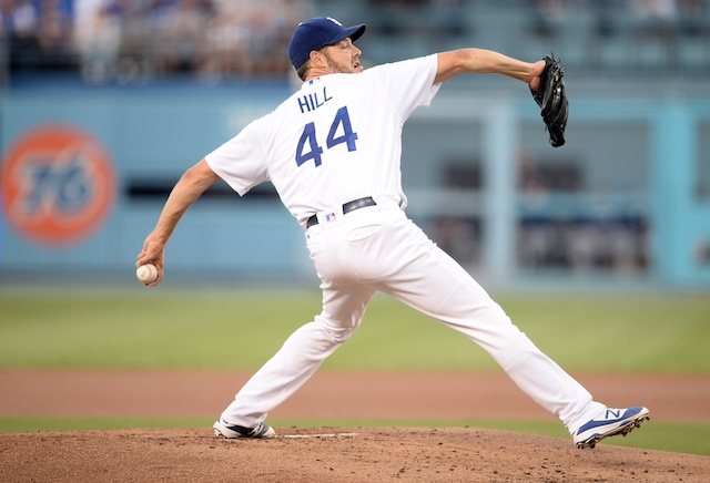 Rich Hill Downplays Being First Dodgers Starter To Win 10 Games - DodgerBlue.com