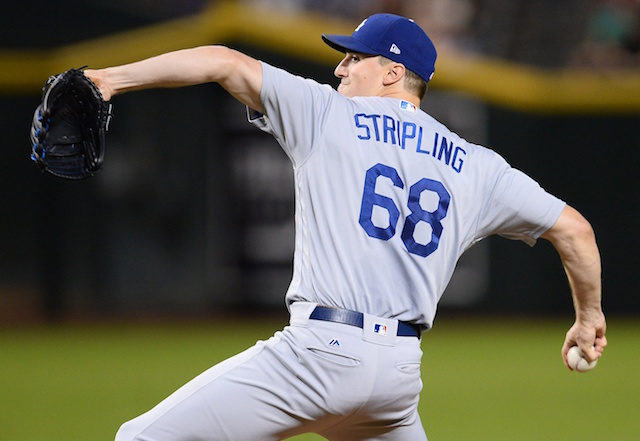Ross Stripling, Dodgers