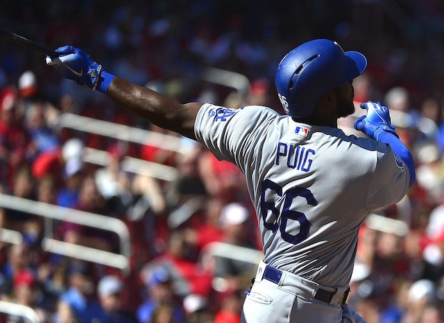 Yasiel Puig, Dodgers