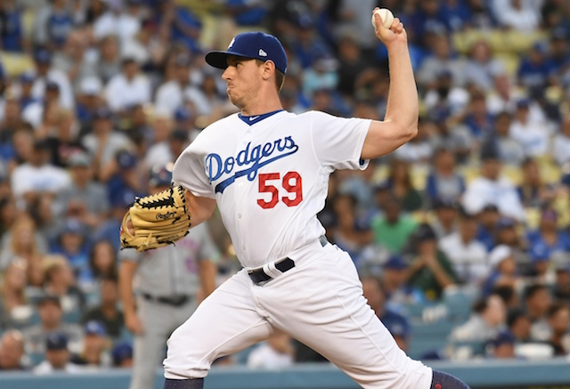 Los Angeles Dodgers relief pitcher Zac Rosscup