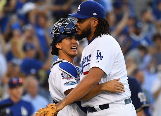 a004c8f6b67 Dodgers News  Kenley Jansen Insists  There s No Drama  After Struggles To  Connect With Austin Barnes