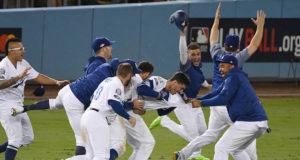 Cody Bellinger, Kiké Hernandez, Matt Kemp, Max Muncy, Julio Urias, Dodgers walk-off, 2018 NLCS