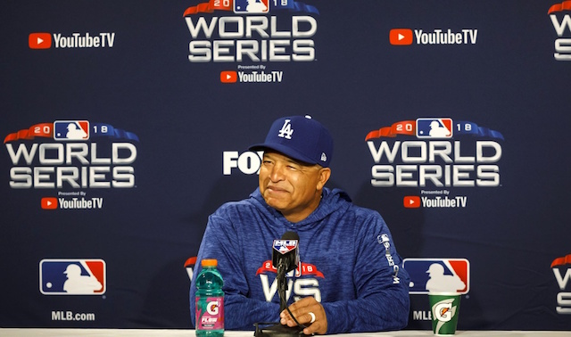 Dave Roberts, 2018 World Series
