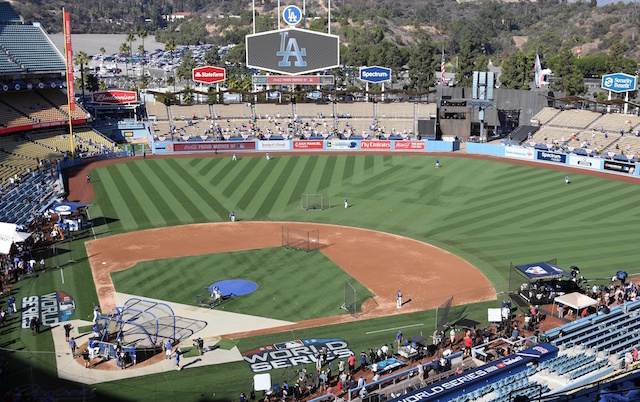 Dodger Stadium, Dodgers