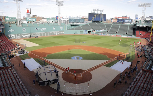 Fenway Park general view, 2018 World Series