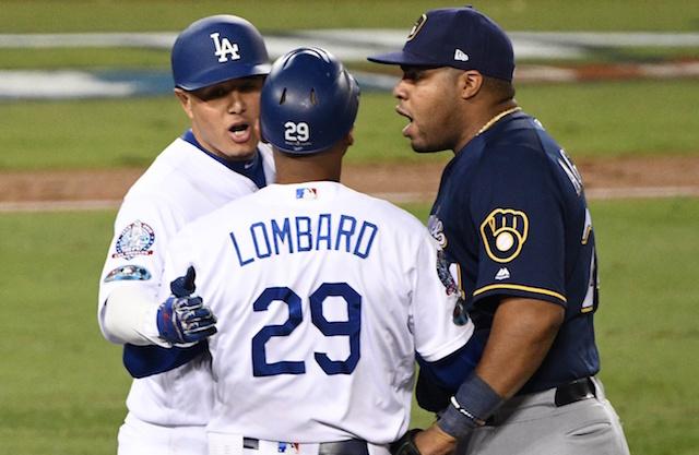 George Lombard, Manny Machado, 2018 NLCS, Dodgers
