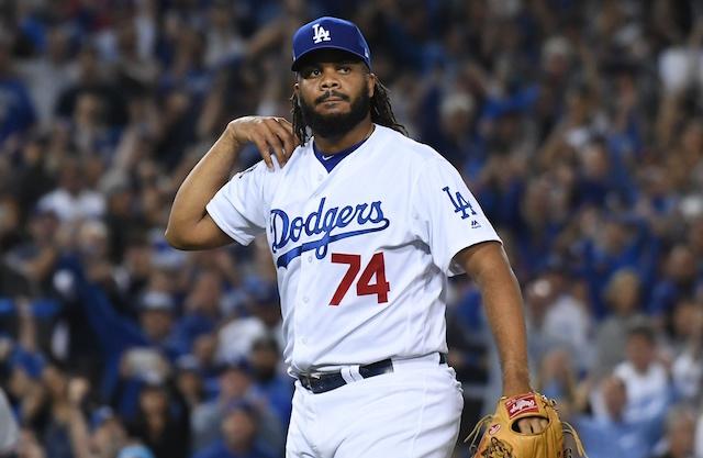 6d1e507bf41 Dodgers News  Kenley Jansen Refutes Notion He s  Struggling  After ...