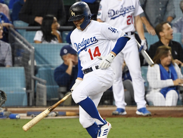 Dodgers even NLCS on Bellinger's 13th-inning hit