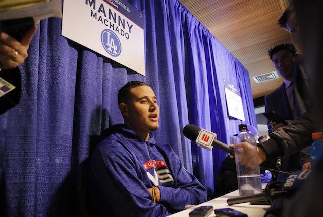 Manny Machado, 2018 World Series
