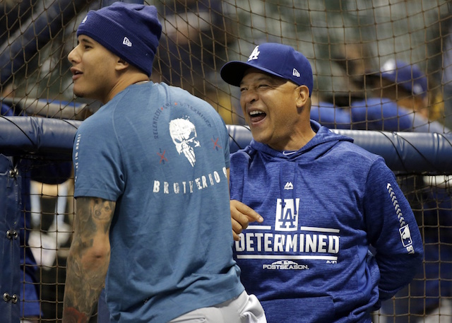 quality design 979ef 281b3 Dave Roberts Hopes Dodgers Fans 'Boo' Manny Machado During ...