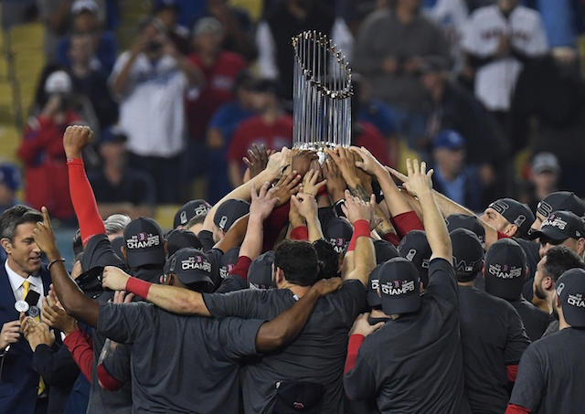 Red Sox, 2018 World Series