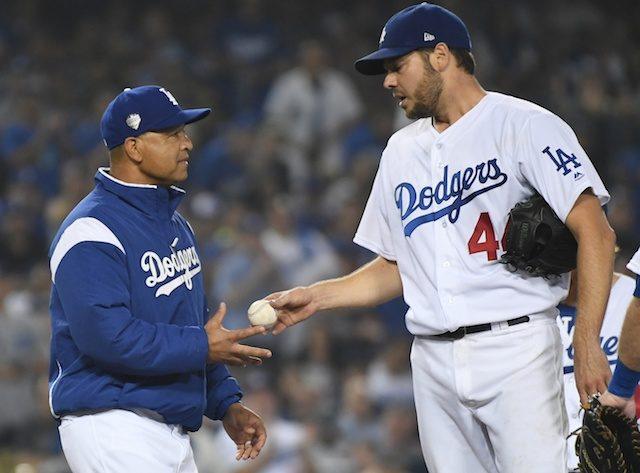 Rich Hill, Dave Roberts, Dodgers