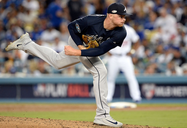 Sean Newcomb, 2018 NLDS, Atlanta Braves