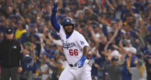 Yasiel Puig, 2018 World Series