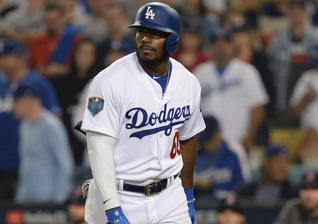 MLB Trade Rumors  Yasiel Puig Among Outfielders Included In Potential  Dodgers-Reds Deal 57ebd2432b4