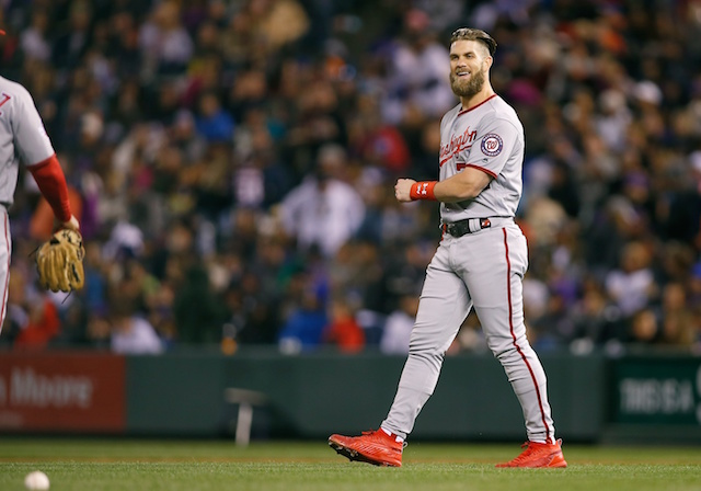 Major League Baseball star Bryce Harper rejects $300M offer from Nationals