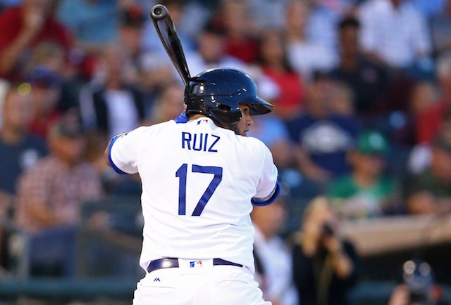 Los Angeles Dodgers catching prospect Keibert Ruiz