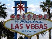 Las Vegas sign, 2018 Winter Meetings