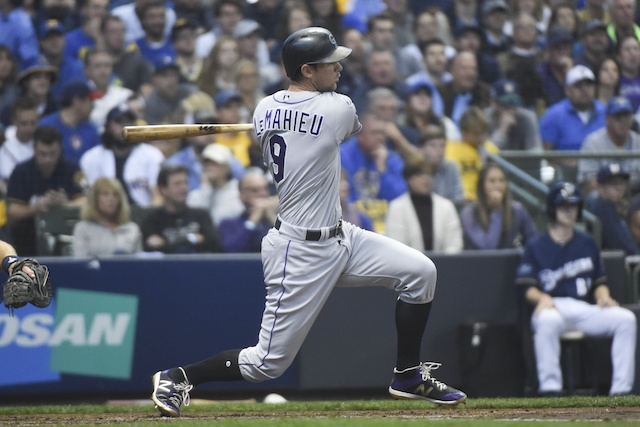 Major League Baseball  rumors: Giants interested in former Rockies infielder DJ LeMahieu