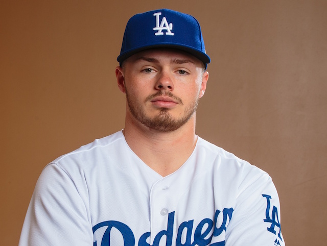 Los Angeles Dodgers prospect Gavin Lux