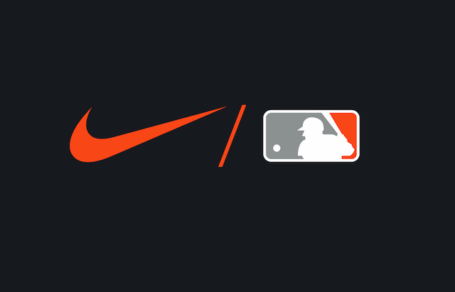 MLB, Nike logo