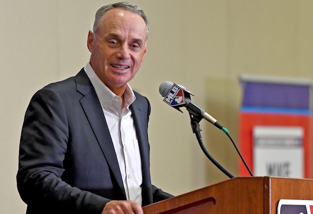 Rob Manfred, MLB