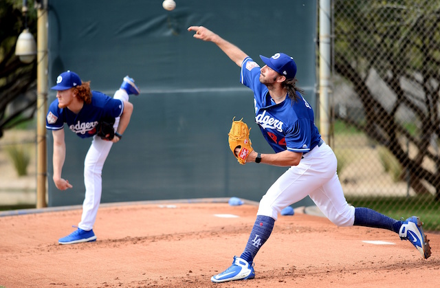 Tony Gonsolin, Dustin May, Dodgers