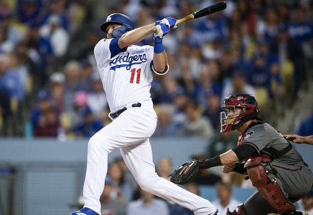 Los Angeles Dodgers center fielder A.J. Pollock