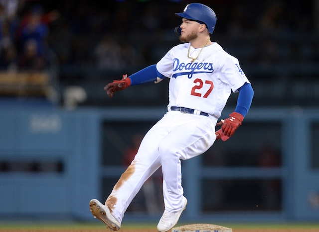 Los Angeles Dodgers outfielder Alex Verdugo