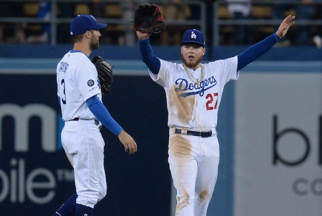 Chris Taylor, Alex Verdugo, Dodgers win
