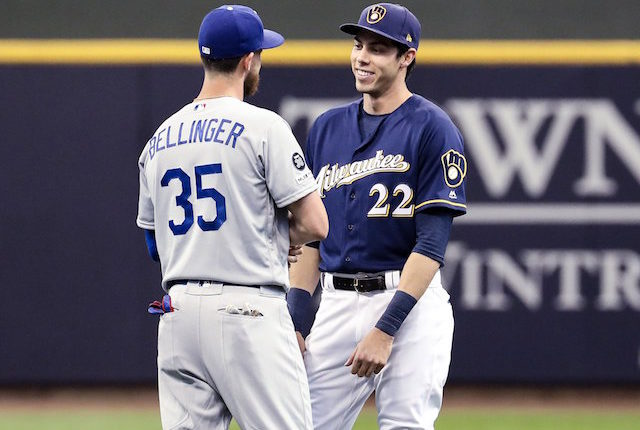 Cody Bellinger, Christian Yelich, Dodgers