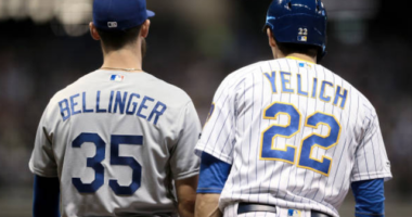 Los Angeles Dodgers All-Star Cody Bellinger and Milwaukee Brewers outfielder Christian Yelich