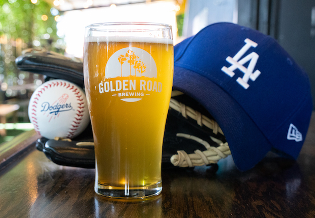Golden Road Brewing, Dodgers Blonde Ale