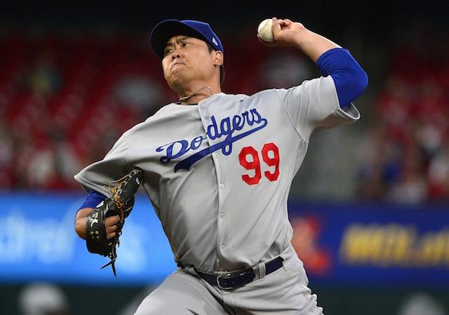 Hyun-Jin Ryu, Dodgers