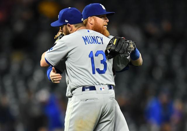 Max Muncy, Justin Turner, Dodgers win