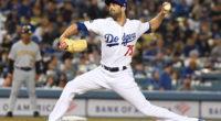 Los Angeles Dodgers relief pitcher Scott Alexander