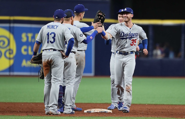 0b7d6760 Dodgers First Team To 50 Wins During 2019 MLB Season, Tie 2nd-Best Start In  Los Angeles Franchise History