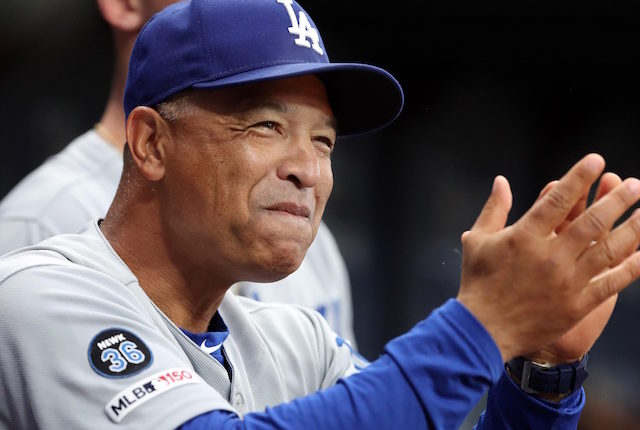 Los Angeles Dodgers manager Dave Roberts