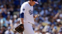 Los Angeles Dodgers pitcher Hyun-Jin Ryu in a start against the Washington Nationals