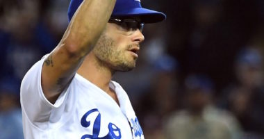 Los Angeles Dodgers relief pitcher Joe Kelly