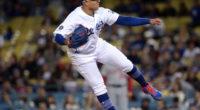 Los Angeles Dodgers pitcher Julio Urias against the Washington Nationals