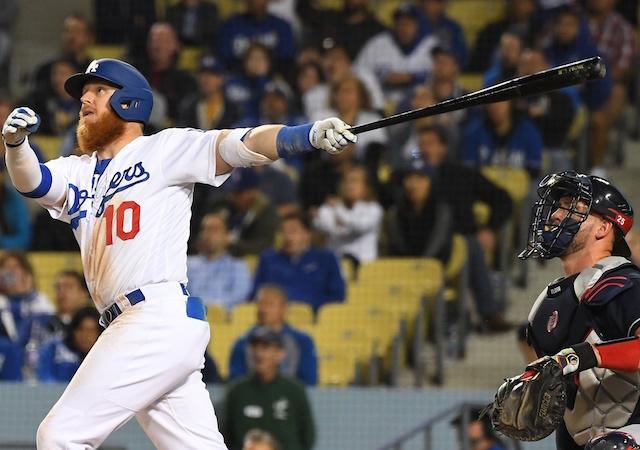 27ec9390b Dodgers Highlights  Justin Turner Hits 3 Home Runs