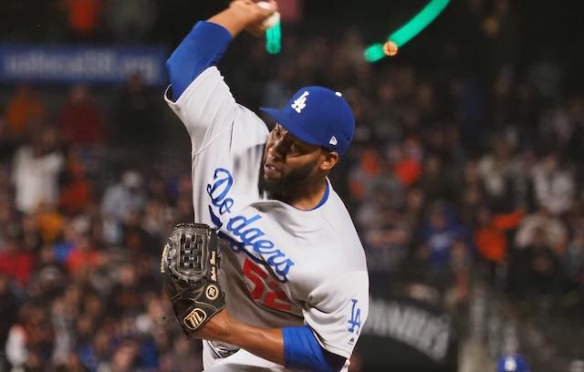 official photos 59608 8da08 Dodgers News: Dave Roberts Trusts Pedro Baez In High ...