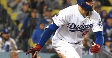 Los Angeles Dodgers outfielder Alex Verdugo