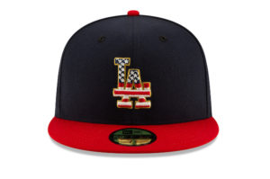 Dodgers 2019 Fourth of July cap