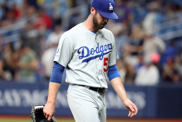 Los Angeles Dodgers relief pitcher Dylan Floro