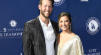 Clayton Kershaw, Ellen Kershaw, 5th annual Los Angeles Dodgers Foundation Blue Diamond Gala